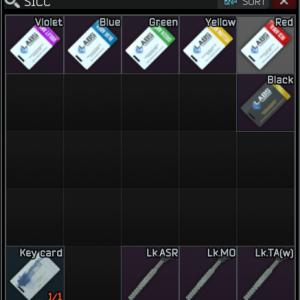 All Lab Keycards