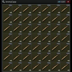 Ammo 7.62x51 mm M61