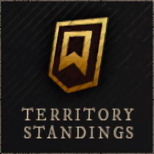 New World Territory Standings Boosting